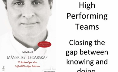 Kelly Odell presentation High Performing Teams - Closing the gap between knowing and doing.